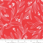 MODA FABRICS - Little Tree - Cranberry