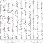 MODA FABRICS - Little Tree - Snow Chalkboard