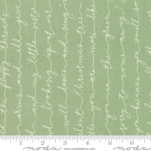 MODA FABRICS - Little Tree - Pine