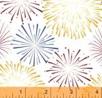 WINDHAM FABRICS - LADY LIBERTY - Whistler Studios - Fireworks - Multi