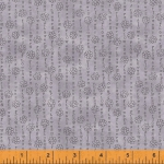 WINDHAM FABRICS - Potpourri - Laura Heine - Flower Stripe - Lavender