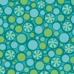 BENARTEX - Contempo - Free Motion Fantasy - Pebbles Teal - #1585-
