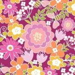 BENARTEX - Contempo - Front Porch -  Summer Floral Pink - #1517-