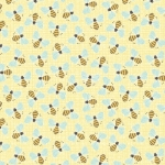 BENARTEX - Contempo - Front Porch -  Bee Light Yellow - #1528-