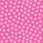 BENARTEX - Contempo - Front Porch -  Mini Floral Medium Pink - #1519-