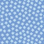 BENARTEX - Contempo - Front Porch -  Mini Floral Medium Blue - #1523-