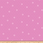 BENARTEX - Contempo - Front Porch - Honeycomb Pink - #1527-