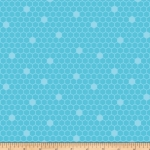 BENARTEX - Contempo - Front Porch -  Honeycomb Teal - #1521-