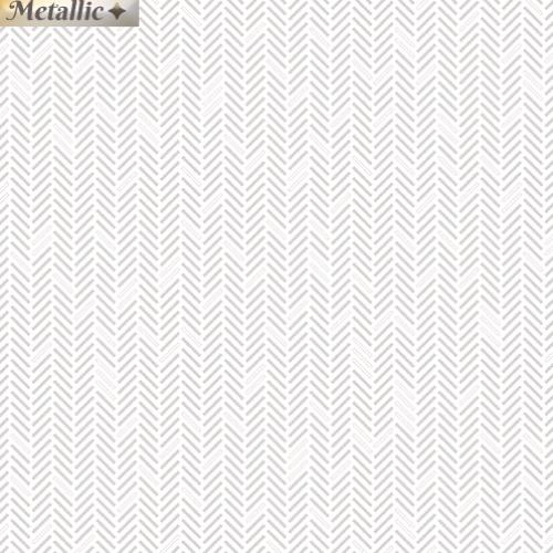 BENARTEX - Jubilee Silver - Herringbone Silver