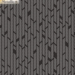 BENARTEX - Jubilee Silver - Herringbone Silver/Black