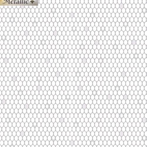 BENARTEX - Jubilee Silver - Ovals Light Gray
