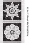 BENARTEX - Jubilee Ruler - PANEL - Silver PL266-