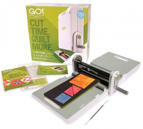 Accuquilt GO! - 55100S Fabric Cutter Starter Set
