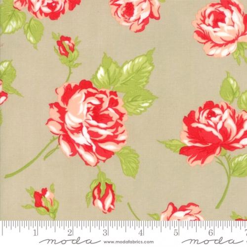 MODA FABRICS - Smitten - Bonnie & Camille - Rosy - Linen