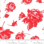 MODA FABRICS - Smitten - Bonnie & Camille - Rosy - Cream Red