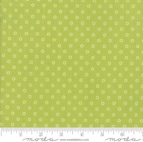 MODA FABRICS - Smitten - Bonnie & Camille - Lovely Little Dots - Green