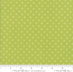 MODA FABRICS - Smitten - Bonnie & Camille - Lovely Little Dots - Green