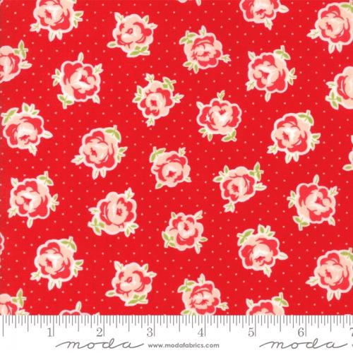 MODA FABRICS - Smitten - Bonnie & Camille - Lovely - Red