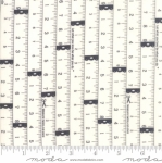 MODA FABRICS - Little Snippets - Measuring Tape Graphite