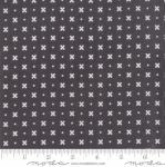 MODA FABRICS - Little Snippets - Flowers & Dots Graphite