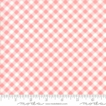 MODA FABRICS - Little Snippets - Gingham Pink