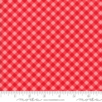 MODA FABRICS - Little Snippets - Gingham Red/Pink - #2556-