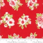 MODA FABRICS - Little Snippets - Bouquet Red