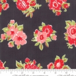 MODA FABRICS - Little Snippets - Bouquet Graphite