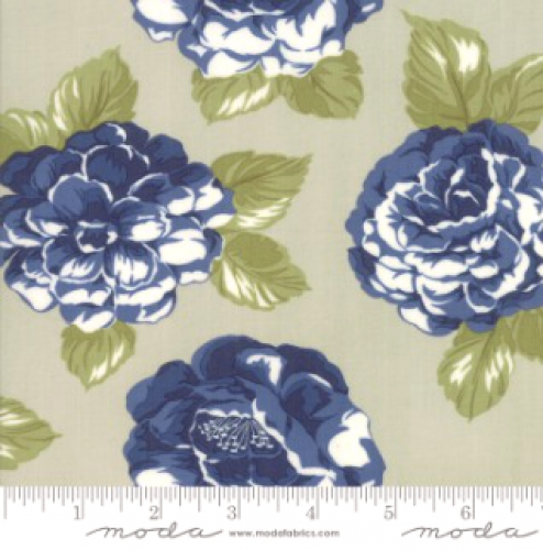 MODA FABRICS - Early Bird Blooms - Gray