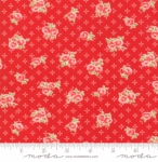 MODA FABRICS - Early Bird Sweet - Red - #3225-