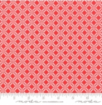 MODA FABRICS - Early Bird Check - Red