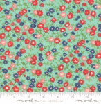 MODA FABRICS - Early Bird Rosie - Aqua - #3234
