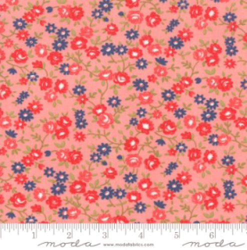 MODA FABRICS - Early Bird Rosie - Pink