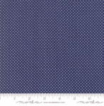 MODA FABRICS - Early Birds Dots - Navy