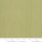 MODA FABRICS - Early Birds Dots - Green