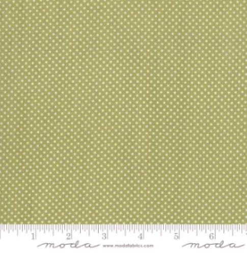MODA FABRICS - Early Birds Dots - Green