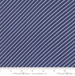 MODA FABRICS - Early Bird Stripe - Navy