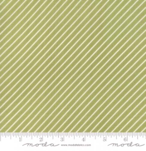 MODA FABRICS - Early Bird Stripe - Green