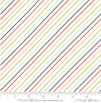 MODA FABRICS - Early Bird Stripe - Multi - #3238-