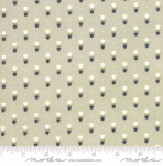 MODA FABRICS - Early Bird Tulips - Gray - #3240-