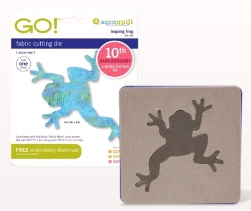 Accuquilt Die GO! 55199 Leaping Frog
