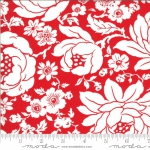 MODA FABRICS - Shine On by Bonnie And Camille - Mums - Red