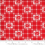 MODA FABRICS - Shine On by Bonnie And Camille - Check - Red
