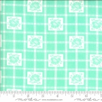 MODA FABRICS - Shine On by Bonnie And Camille - Check - Aqua