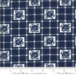 MODA FABRICS - Shine On by Bonnie And Camille - Check - Navy