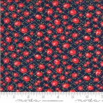 MODA FABRICS - Shine On by Bonnie And Camille - Roses - Navy
