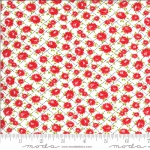 MODA FABRICS - Shine On by Bonnie And Camille - Roses - White