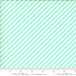 MODA FABRICS - Shine On by Bonnie And Camille - Stripe - Aqua