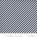 MODA FABRICS - Shine On by Bonnie And Camille - Stripe - Navy