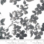 MODA FABRICS - Sunday Stroll by Bonnie and Camille - White Gray
